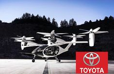 Toyota announces huge ₦126billion investment on Flying VOTL cars