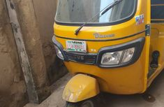 Nigeria Used TVS Tricycle Keke 2019 Model Yellow