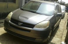 Foreign Used Toyota Sienna LE 2005 Model Gray