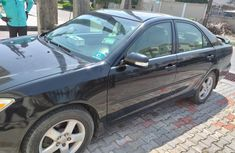 Nigeria Used Toyota Camry 2003 Model Black