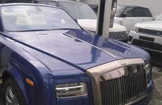 Foreign Used 2013 Blue Rolls Royce Phantom for sale in Lagos