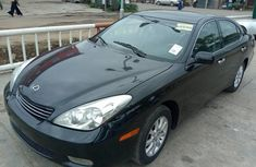 Super CLean Tokunbo Lexus ES 2003 Model Automatic Black