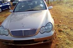 Foreign Used Mercedes-Benz C200 2001 Model Gold