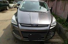 Nigeria Used Ford Escape 2013 Model Gray