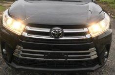 Tokunbo Toyota Highlander 2017 Model Black