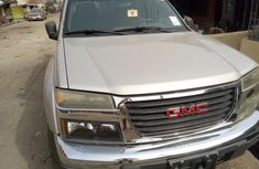 Foreign Used GMC Canyon 2005 Model Silver