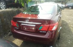Foreign Used Lexus ES350 2008 Model Red Colour