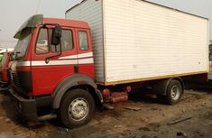 Foreign used Mercedes Benz container truck