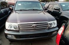 Brown Foreign Used 2005 Toyota Land Cruiser