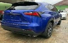 Foreign Used Lexus NX 2016 Model Blue