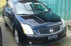 Foreign Used Nissan Sentra 2008 Model Black