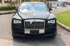 Foreign Used Rolls-Royce Ghost 2015 Model Black