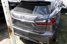 Lexus RX 2017 Petrol Automatic Transmission Grey/Silver Colour