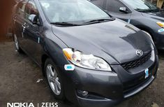 Fairly Used Toyota Matrix 2010 Automatic Transmission Grey/Silver