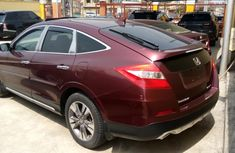 Almost brand new 2013 Honda Accord CrossTour Maroon Colour