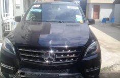 Tokunbo Mercedes-Benz ML350 2014 Model Black
