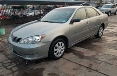 Nigeria Used Toyota Camry 2005 Model Silver