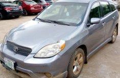 Nigerian Used Toyota Matrix 2005 Model