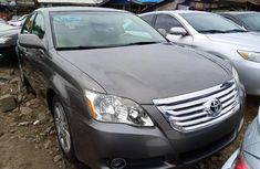 Foreign Used Toyota Avalon 2007 Model Gray