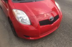 Foreign Used Toyota Yaris 2008 Model Red