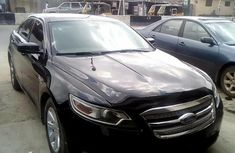 Nigeria Used Ford Taurus 2010 Model Black
