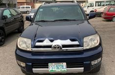 Nigeria Used Toyota 4-Runner 2006 Model Blue