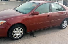 Tokunbo Toyota Camry 2004 Model in perfect condition