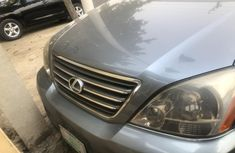 Nigeria Used Lexus GX 2005 Model Blue