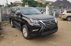 Foreign Used Lexus GX 2018 Model Black