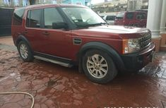 Nigeria Used Land Rover LR3 1005 Model Red