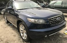 Foreign Used Infiniti FX 2007 Model Blue