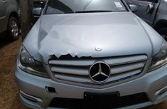 Foreign Used Mercedes-Benz C300 2013 Model Silver