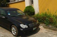 Black Locally Used 2002 Mercedes-Benz C200 Sedan Automatic Transmission