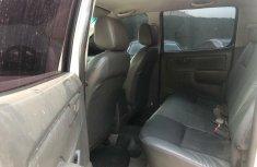 White 2014 Toyota Hilux pickup / truck manual
