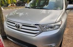 Foreign Used Toyota Highlander 2013 Model Silver