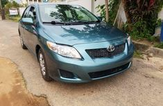 Foreign Used Toyota Corolla 2009 Model Green