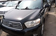 Foreign Used Black 2008 Toyota Highlander automatic Gear