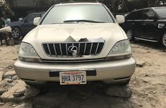 Foreign Used 2003 White Lexus RX for sale in Lagos
