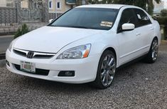 Nigeria Used Honda Accord 2007 Model White