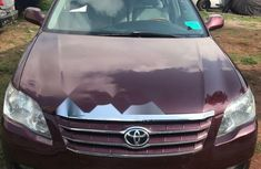 Foreign Used Toyota Avalon 2007 Model Red