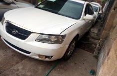 Nigeria Used Hyundai Sonata 2008 Model White