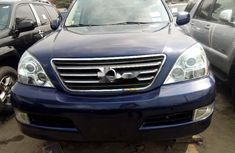 Foreign Used Lexus GX 2009 Model Blue