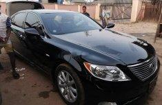 Foreign Used Lexus LS 2009 Model Black
