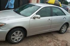 Nigeria Used Toyota Camry 2004 Model Silver