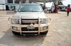 Nigeria Used Infiniti QX 2001 Model Gold