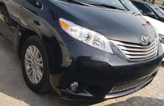 Foreign Used Toyota Sienna 2015 Model Black