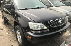 Foreign Used 2003 Black Lexus RX for sale in Lagos