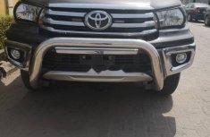Nigeria Used Toyota Hilux 2017 Model Gray