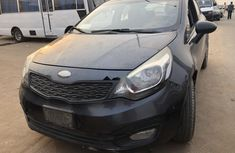 Nigeria Used Kia Rio 2013 Model Black