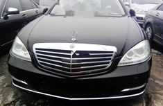 Foreign Used Mercedes-Benz S350 2008 Model Black